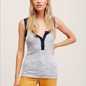 Free People Sleeveless Time Out Tank Top